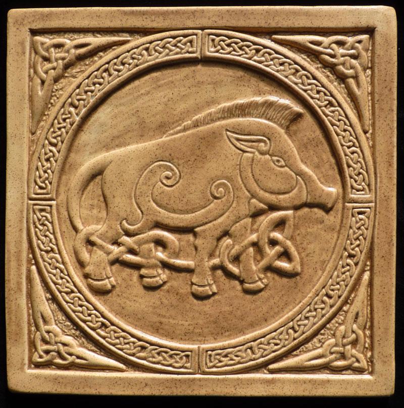 Celtic tiles