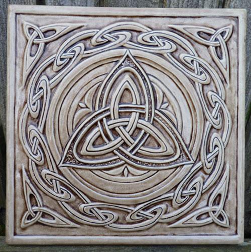 Trinity Symbol Wallpaper Celtic Trinity Knot $42.95
