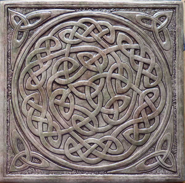 celtic ceramic tile - Decorative Tile