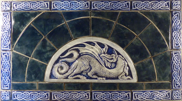 Dragon tile set