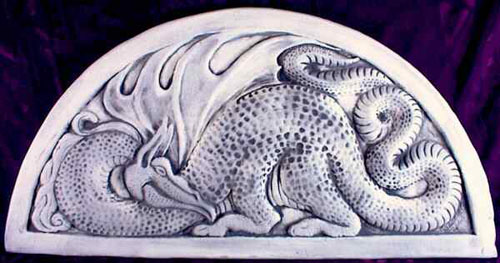 ceramic dragon tile