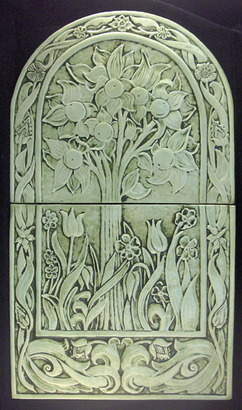 decorative ceramic tree tile