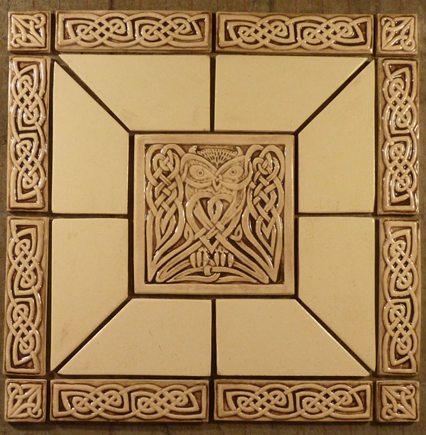 Celtic Tiles - Decorative 4x4 metal tiles