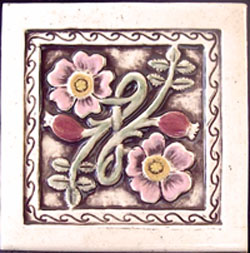 ceramic art tile