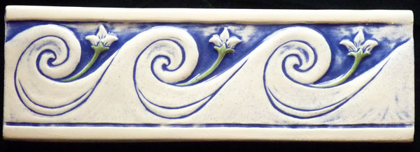 decorative ceramic tile border